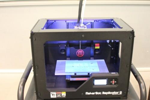 実演に使用された「Replicator2」
