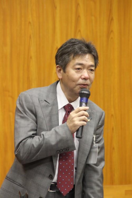 杉本会長が議事を進めた