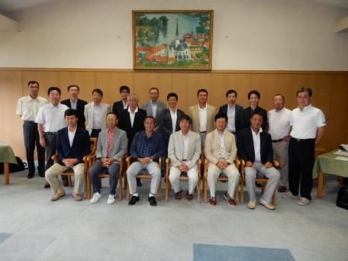 当工業会と東部ゴム商組墨東支部合わせて22名が参加しました