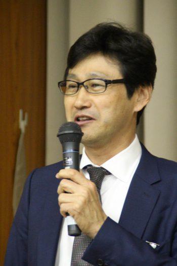 新会長に就任した堀田氏