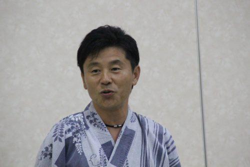 優勝した右川副会長