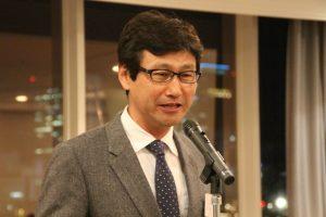 今後も3団体で情報交換をし交流を深めていきたいと述べる堀田会長